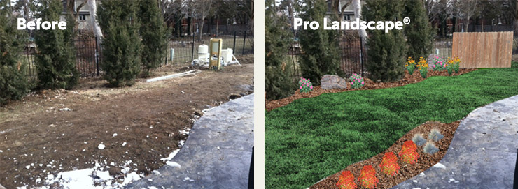 Utilizing PRO Landscape® Software, Our Professional Landscape Design Team  Recommends Adding Flower Beds For Definition And Year Around Interest While  ...
